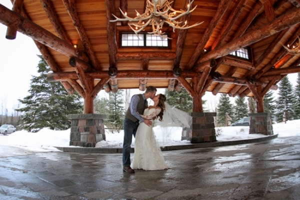Holiday Theme Wedding at Whiteface Lodge