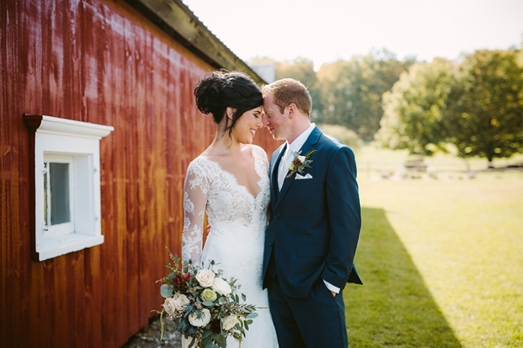 Barn Wedding in Washington County