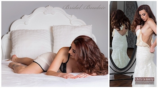 Why Bridal Boudoir is a popular pre-wedding treat for the bride and groom!