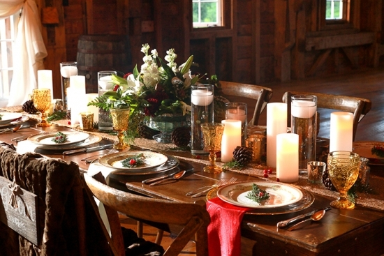 Cozy Up Your Holiday Themed Wedding